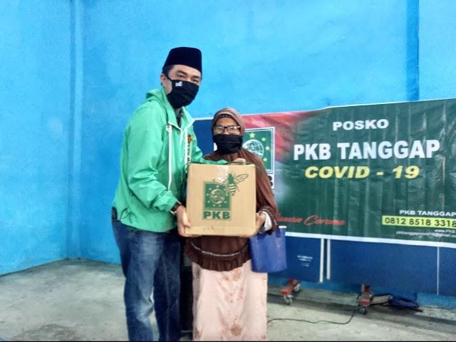 PKB Kerinci Bagikan Bantuan Sembako dan Sampaikan Amanah Gus Ami