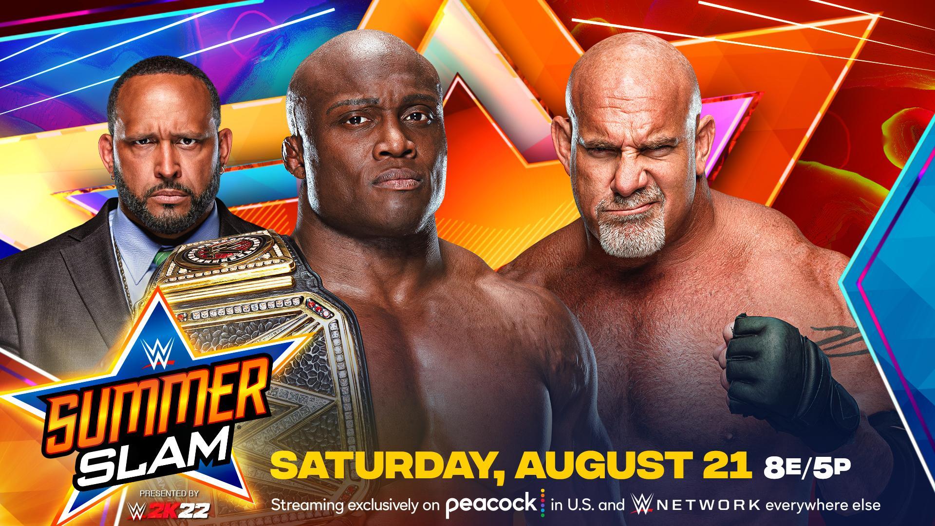 """Bobby Lashley vs. Goldberg"" é anunciado para o WWE SummerSlam"