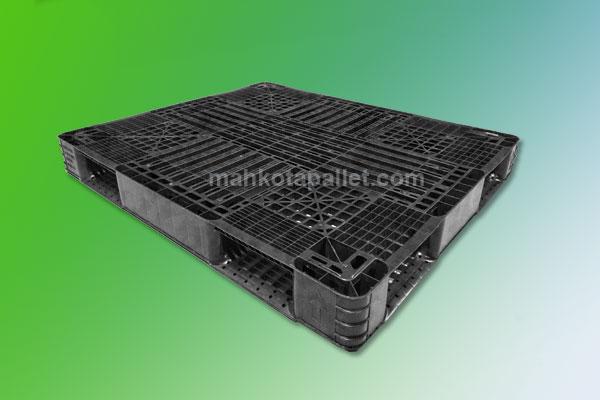 Pallet Plastik Bekas Ukuran 1300x1100x130 mm