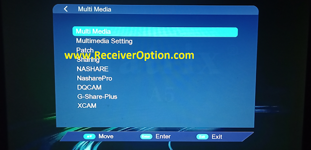 MATRIX ASH AS 1506TV 512 4M NEW SOFTWARE WITH G SHARE PLUS XCAM OPTION