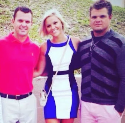Daniel Vogelbach with his siblings brother & sister