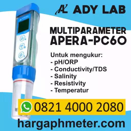 Ady Lab Harga Ph Meter Premium Apera Pc60 Multiparameter Ph Orp