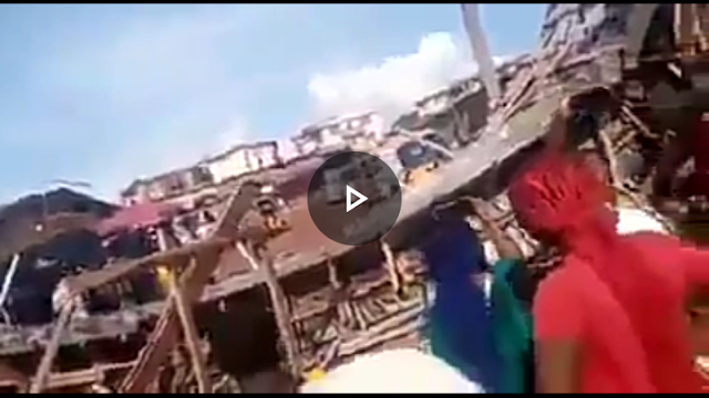 Bridge under construction collapses in Enugu (Video)