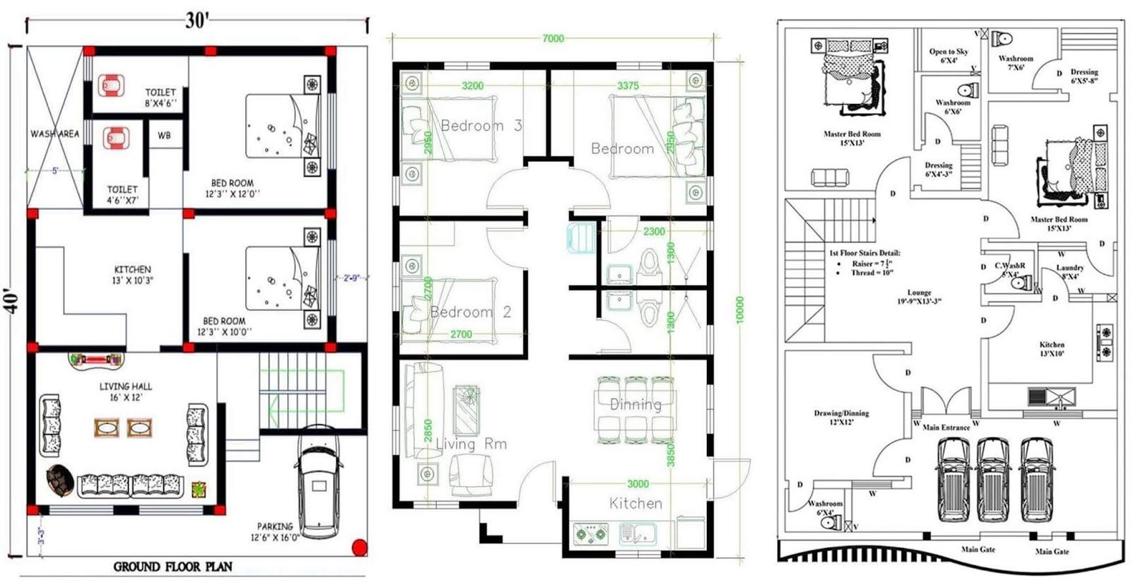 Idees De Plans De Maison Uniques