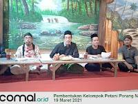 Seriusi Agribisnis untuk Kemandirian Ummat, MWCNU 05 Comal Bentuk Kelompok Tani Porang