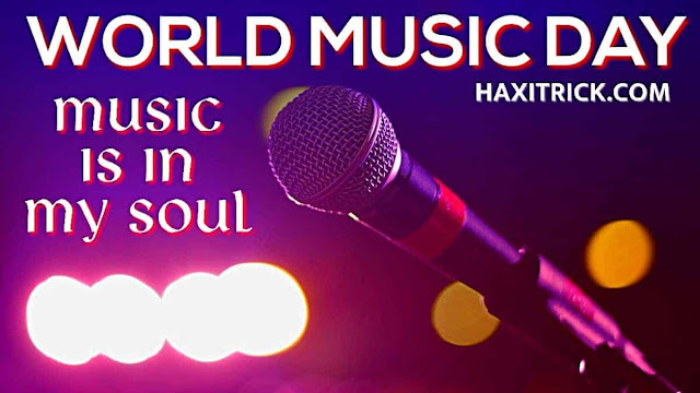 World Music Day 2020 Quotes Photos Music is in My Soul