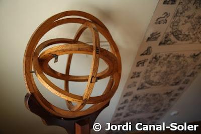 Instrumento en la casa de Copérnico en Torun