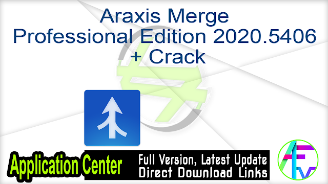 Araxis Merge Professional Edition 2020.5406 + Crack