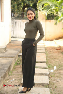 Tollywood Actress Punarnavi Bhupalam Latest Po Gallery in Black Trouser Pant at Pittagoda Movie Interview  0165.JPG