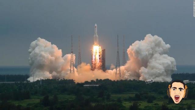 الصاروخ الصيني اين يقع