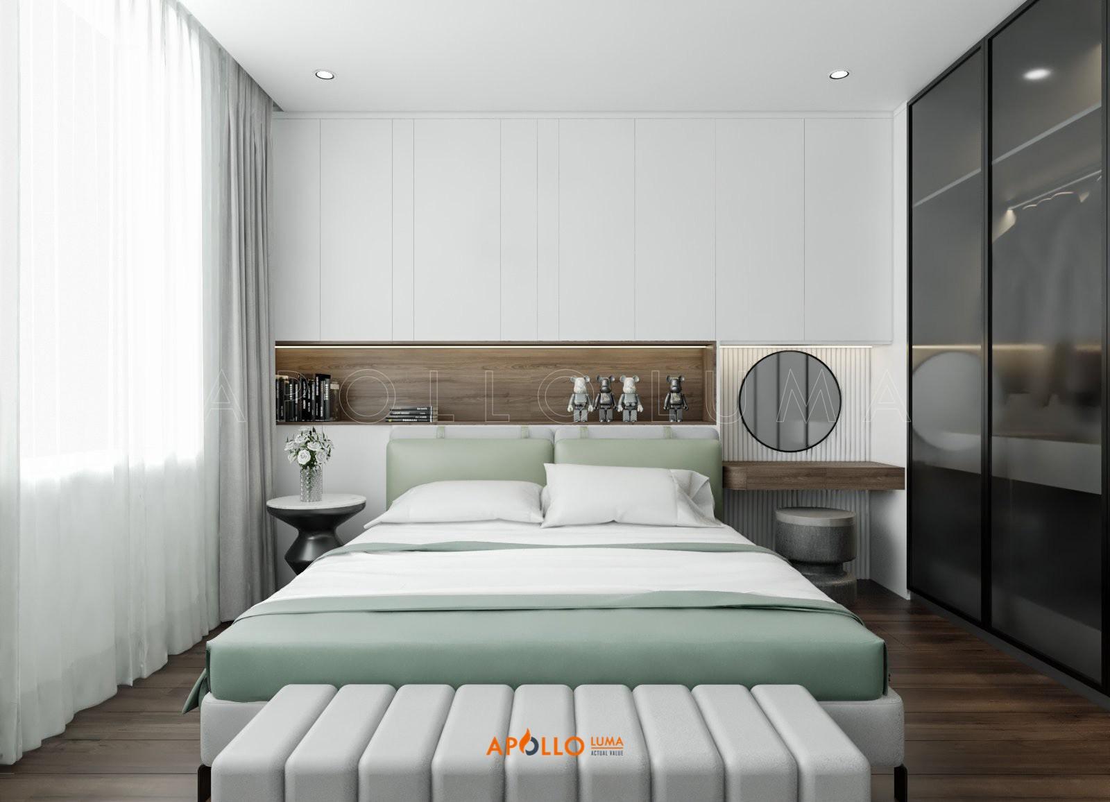 Thiết kế nội thất căn hộ 3PN Ngoại Giao Đoàn