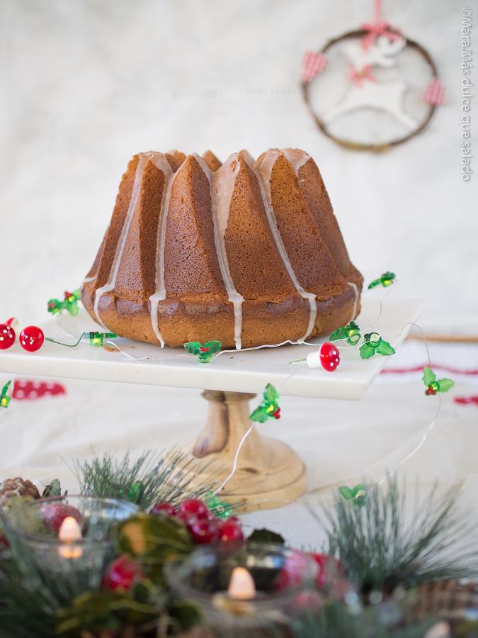 Tunnel of Mincemeat Bundt Cake