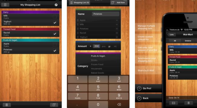 Best Grocery List App for iPhone