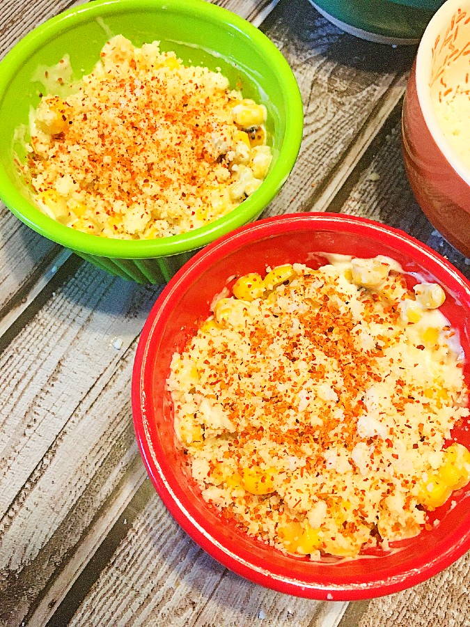 Mexican Street Corn in Cup