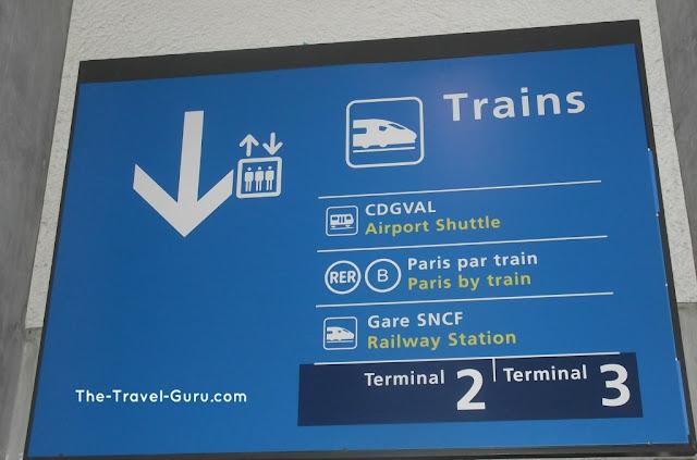 Placa de trens em Paris