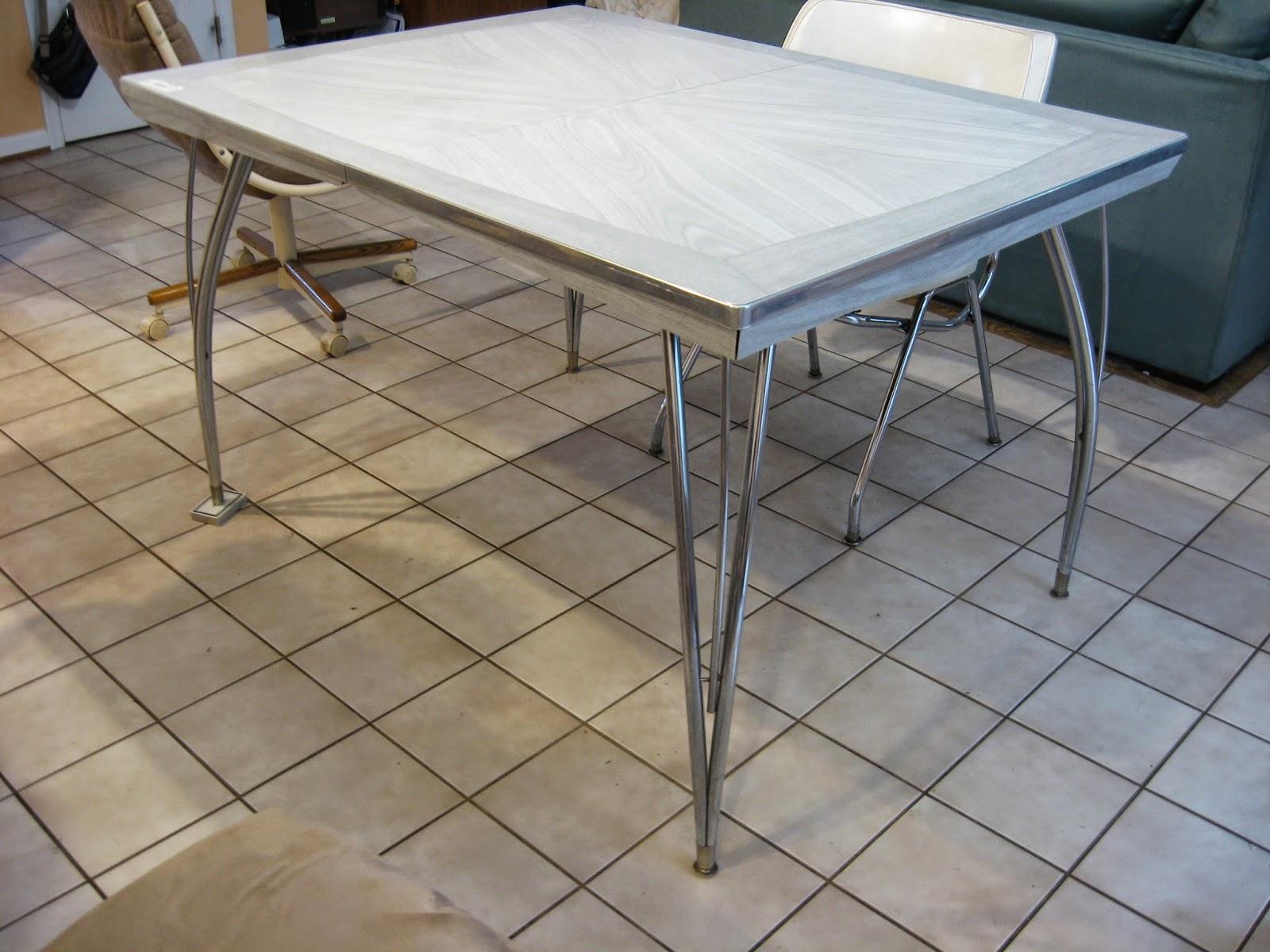ICEBERG, GOLDBERG, GREENBERG!: MCM Kitchen Dinette Set and ...