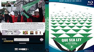 CARATULA LA OLA VERDE-QUE SEA LEY 2019[COVER BLU-RAY]
