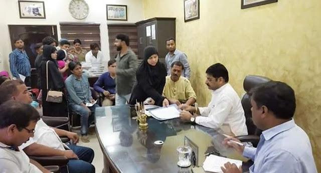 BJP विधायक ने जनता की फ़रियाद सुन किया निस्तारण - newsonfloor.com