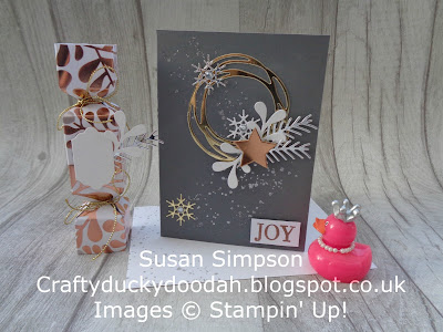 Stampin' Up! UK Independent  Demonstrator Susan Simpson, Craftyduckydoodah!, Pretty Pines, Swirly Scribbles, November Coffee & Cards Project 2017, Supplies available 24/7 from my online store,