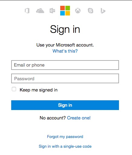 hotmail connexion sign in