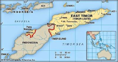 Letak astronomis dan geografis Timor Leste - berbagaireviews.com
