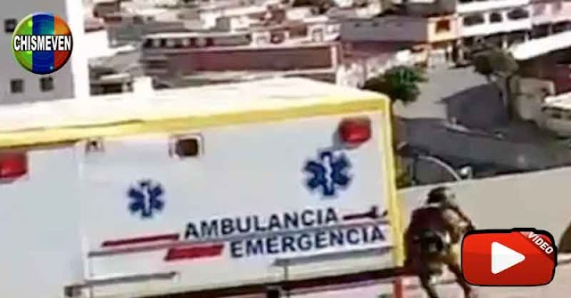 IDIOTAS   Funcionarios llegan a la Cota 905 escondidos en una ambulancia para enfrentar al Koki