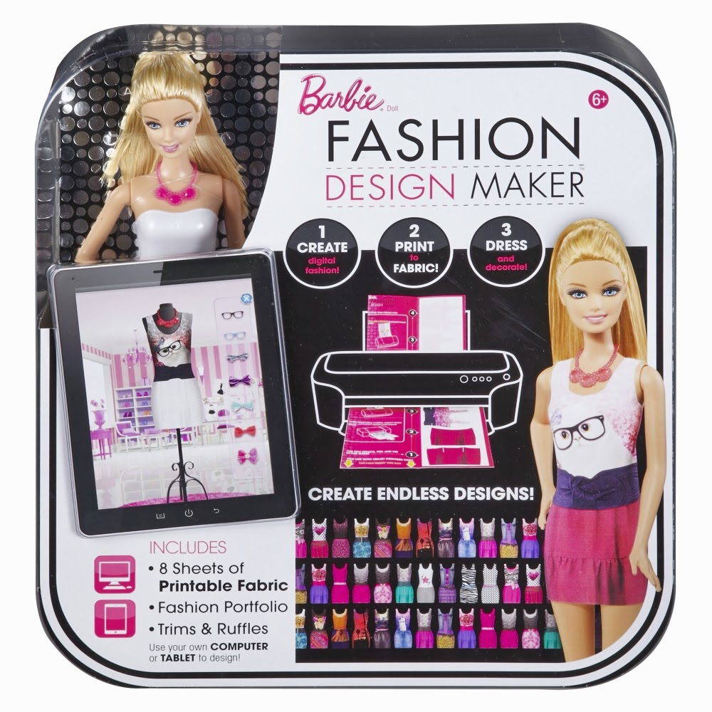 A Mothers Ramblings Barbie Fashion Design Maker Review