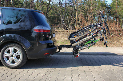 Bagażnik rowerowy Tytan 3 - Amos