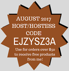 Host/Hostess Code for August