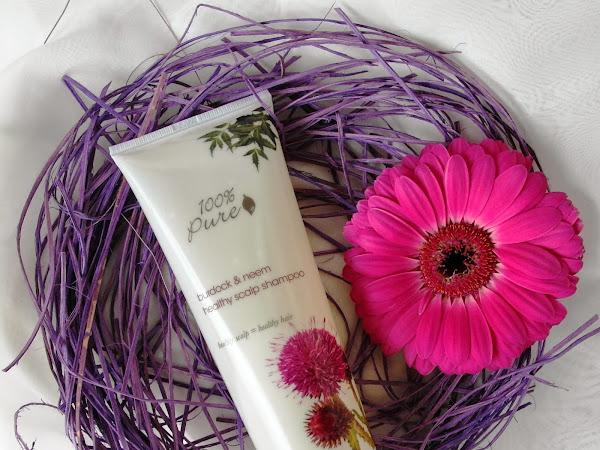 100% Pure - Burdock & Neem Healthy Scalp Shampoo