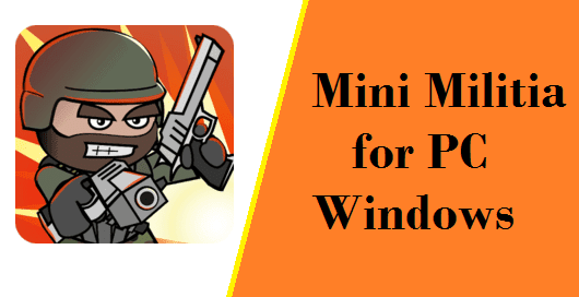 Mini Militia in Pc/Laptop