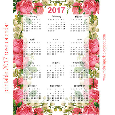 ... free printable 2017 calendar the whole year at a glance calendar