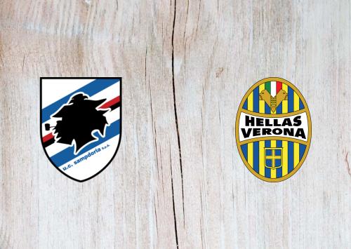 Sampdoria vs Hellas Verona -Highlights 8 March 2020