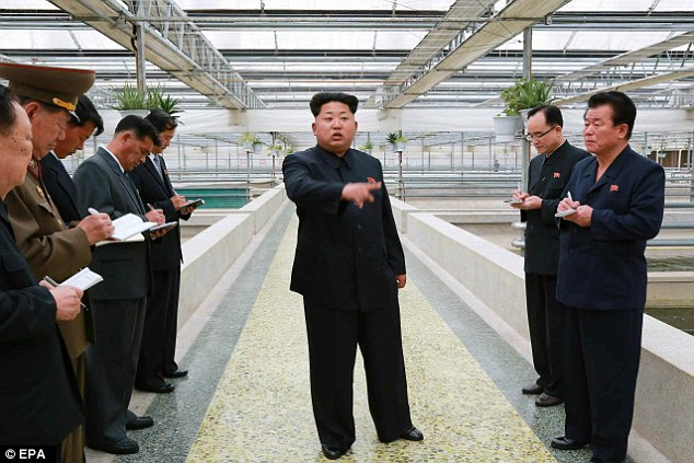 Kim Jong-un executes farmer