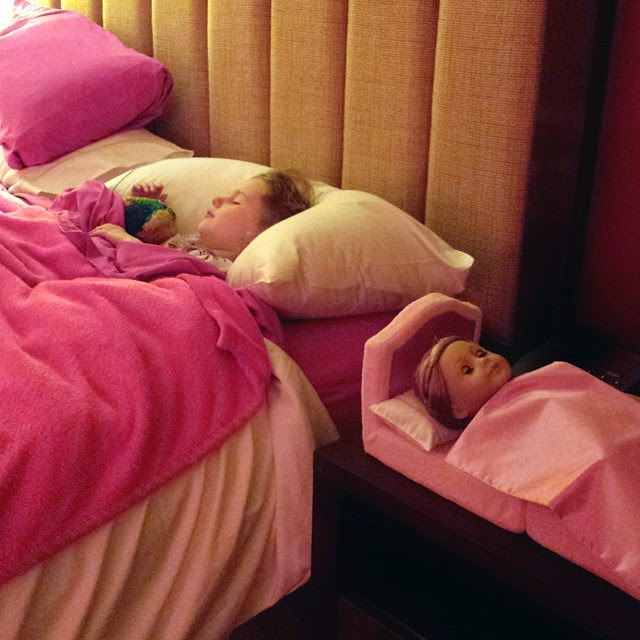 Dreaming of American Girl packages in  Charlotte, N.C.
