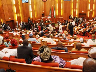 The Nigeria Senate floor abuja
