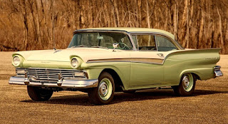 1957 Ford Fairlane 500 Dual Quad Front Left