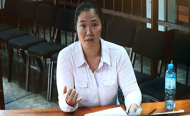 Poder Judicial reduce prisión preventiva de 36 a 18 meses a Keiko Fujimori