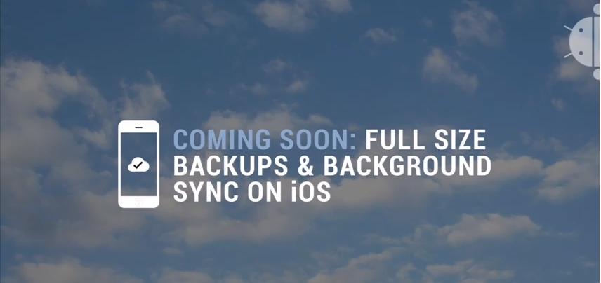 iOS版のグーグルプラスアプリが写真の自動バックアップとバックグラウンドの同期に対応予定