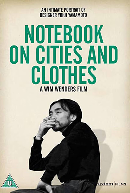 Notebook on Cities and Clothes Filmes Moda