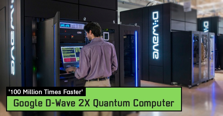 It Works! Google's Quantum Computer is '100 Million Times Faster' than a PC