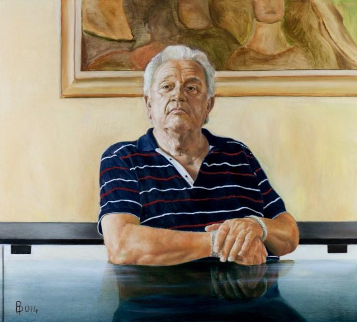 Итальянский художник. Paolo Borile