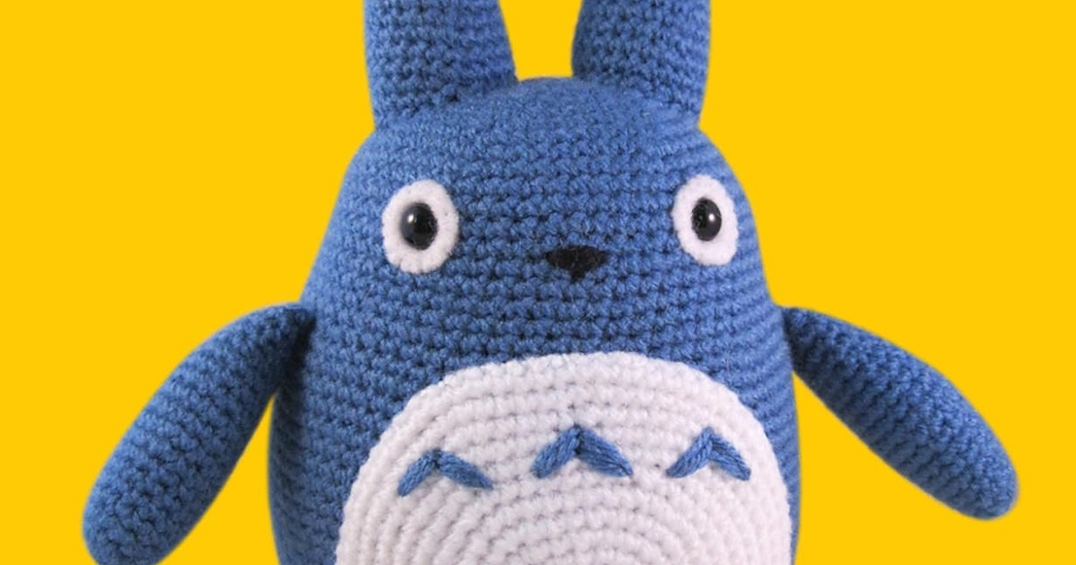 Modele Crochet Gratuit Totoro Amigurumi