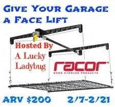 Garage Face Lift Giveaway