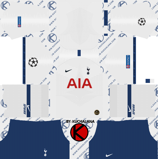 Tottenham Hotspur 2019 2020 Kit Dream League Soccer Kits Kuchalana