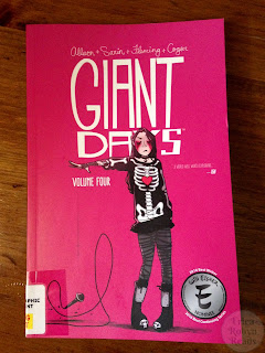 Giant Days Vol. 4 by John Allison, Max Sarin (Illustrator), Whitney Cogar (Colors), Liz Fleming (Inks)
