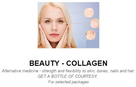 Vitamins for collagen