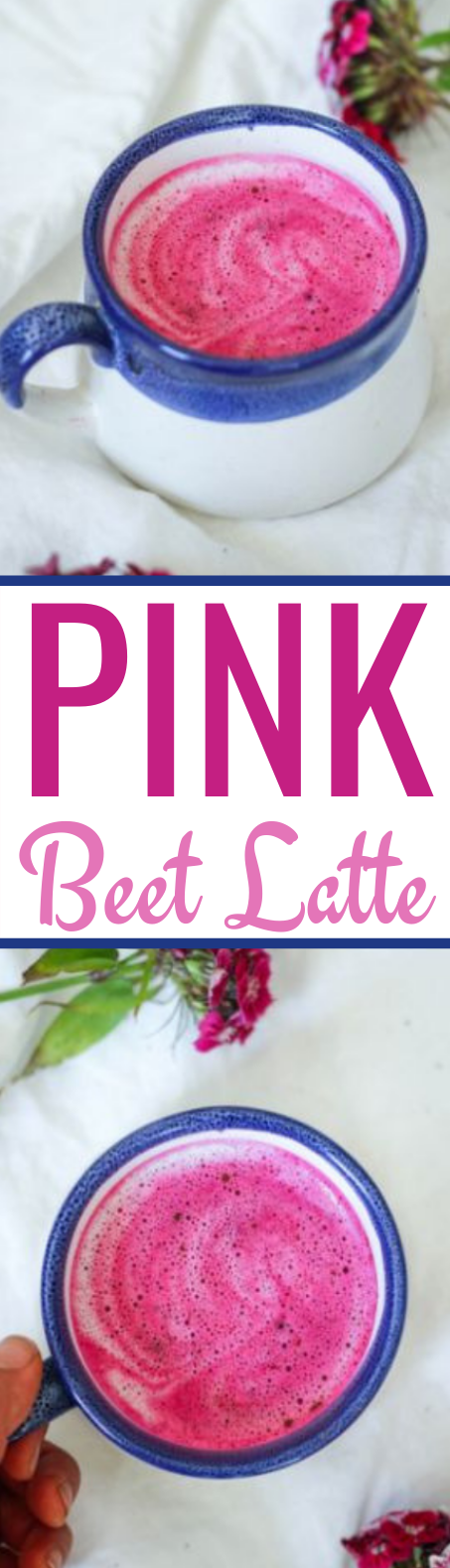 Pink Beet Latte (Paleo, Whole30, Vegan) #healthy #drinks #latte #paleo #vegan