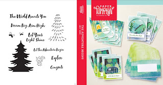 Stampin' Up! Paper Pumpkin: July 2021 The Adventure Begins Stamp Case Insert #paperpumpkin