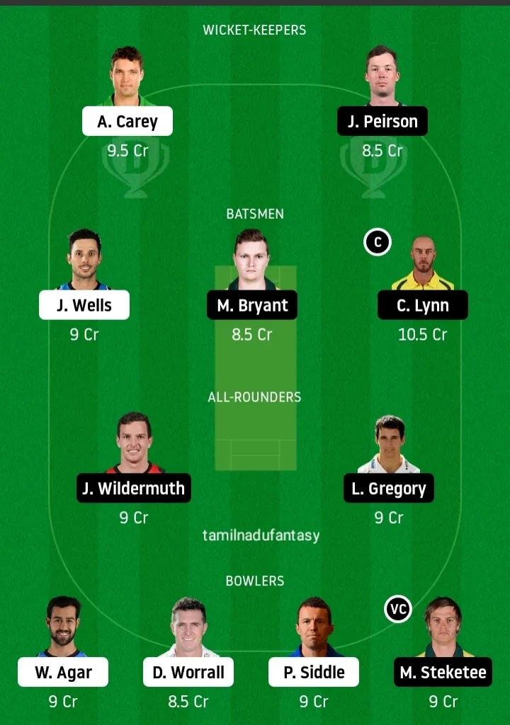 STR VS HEA DREAM 11 PREDICTION